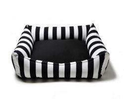 Hundebett.Black&White