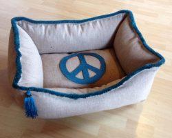 Hundebett.Peace