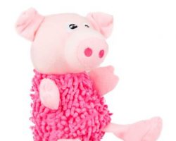 Hundespielzeug Shaggy Pig