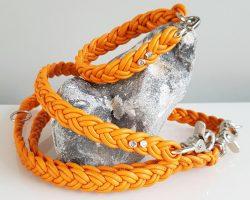 GASSI GLAMOUR_Nappaleder-Set_Orange